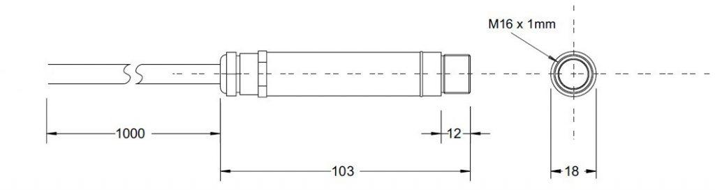 abmessungeninfrarottemperatursensorir402