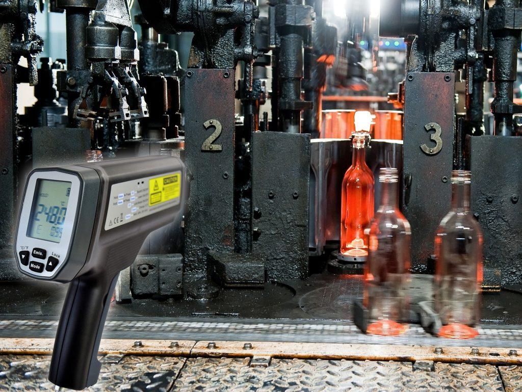 Pyrometer Glasverarbeitung novasens HighTemp 520
